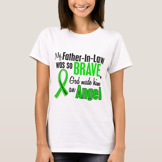 Angel 1 Non-Hodgkins Lymphoma Father-In-Law T-Shirt