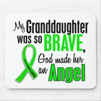 Angel 1 Non-Hodgkins Lymphoma Granddaughter Mouse Pad