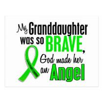 Angel 1 Non-Hodgkins Lymphoma Granddaughter Postcard