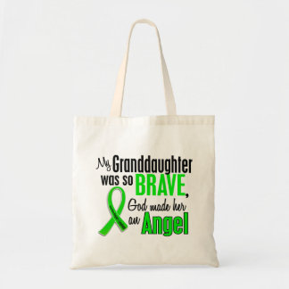 Angel 1 Non-Hodgkins Lymphoma Granddaughter Tote Bag
