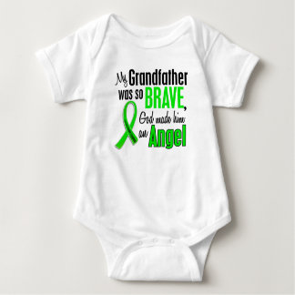 Angel 1 Non-Hodgkin's Lymphoma Grandfather Baby Bodysuit
