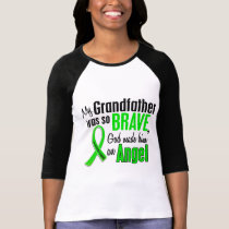 Angel 1 Non-Hodgkin's Lymphoma Grandfather T-Shirt
