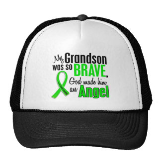 Angel 1 Non-Hodgkin's Lymphoma Grandson Trucker Hat