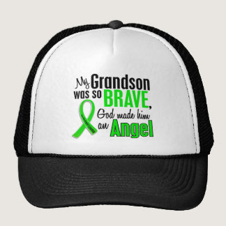 Angel 1 Non-Hodgkin's Lymphoma Grandson Trucker Hat
