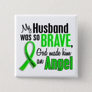 Angel 1 Non-Hodgkin's Lymphoma Husband Button