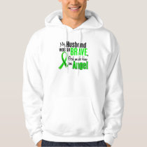 Angel 1 Non-Hodgkin's Lymphoma Husband Hoodie