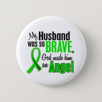 Angel 1 Non-Hodgkin's Lymphoma Husband Pinback Button