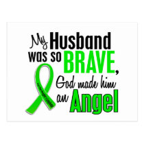 Angel 1 Non-Hodgkin's Lymphoma Husband Postcard
