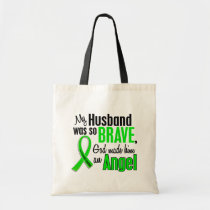 Angel 1 Non-Hodgkin's Lymphoma Husband Tote Bag