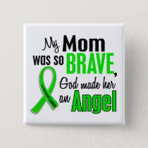 Angel 1 Non-Hodgkins Lymphoma Mom Pinback Button