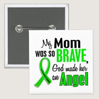 Angel 1 Non-Hodgkins Lymphoma Mom Pinback Button