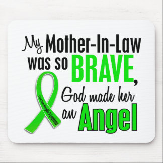 Angel 1 Non-Hodgkins Lymphoma Mother-In-Law Mouse Pad