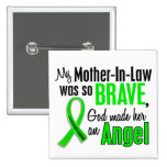 Angel 1 Non-Hodgkins Lymphoma Mother-In-Law Pinback Button