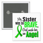 Angel 1 Non-Hodgkin's Lymphoma Sister Pinback Buttons