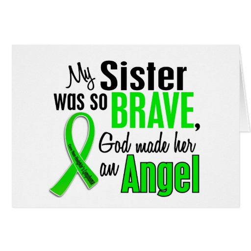 Angel 1 Non-Hodgkin's Lymphoma Sister Cards