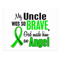 Angel 1 Non-Hodgkin's Lymphoma Uncle Postcard