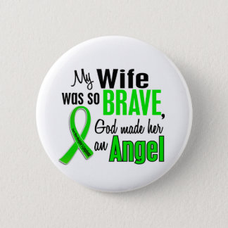 Angel 1 Non-Hodgkin's Lymphoma Wife Button