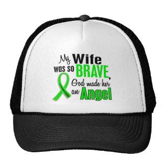 Angel 1 Non-Hodgkin's Lymphoma Wife Trucker Hats