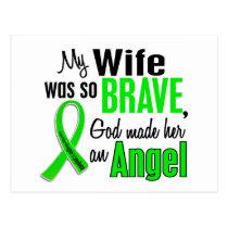 Angel 1 Non-Hodgkin's Lymphoma Wife Postcard