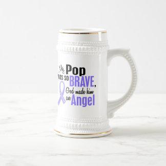 Angel 1 Pop Esophageal Cancer Beer Stein