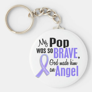 Angel 1 Pop Esophageal Cancer Keychain