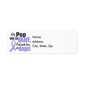 Angel 1 Pop Esophageal Cancer Return Address Label