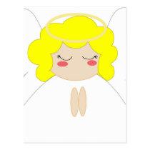 Angel 1 postcard