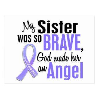 Angel 1 Sister Esophageal Cancer Postcard