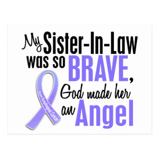 Angel 1 Sister-In-Law Esophageal Cancer Postcard