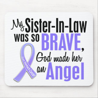 Angel 1 Sister-In-Law Stomach Cancer Mouse Pad