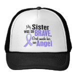 Angel 1 Sister Stomach Cancer Hats