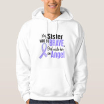 Angel 1 Sister Stomach Cancer Hoodie