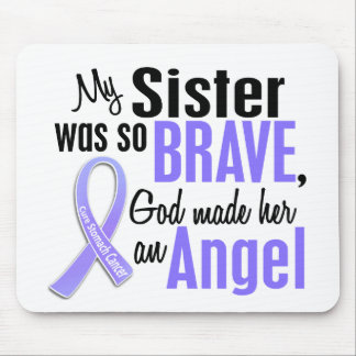 Angel 1 Sister Stomach Cancer Mouse Pad
