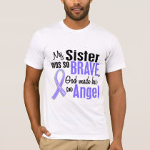 Angel 1 Sister Stomach Cancer T-Shirt