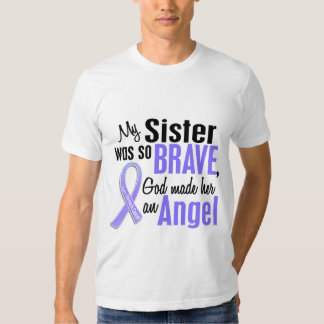 Angel 1 Sister Stomach Cancer Tee Shirt