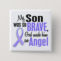 Angel 1 Son Esophageal Cancer Button