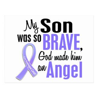 Angel 1 Son Esophageal Cancer Postcard