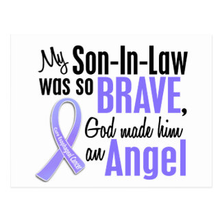 Angel 1 Son-In-Law Esophageal Cancer Postcard