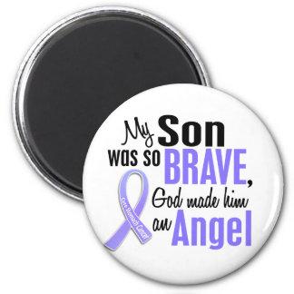 Angel 1 Son Stomach Cancer 2 Inch Round Magnet