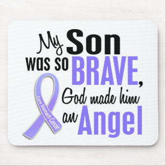 Angel 1 Son Stomach Cancer Mouse Pad