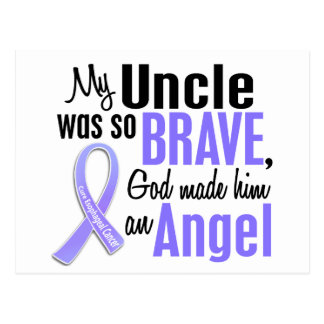 Angel 1 Uncle Esophageal Cancer Postcard