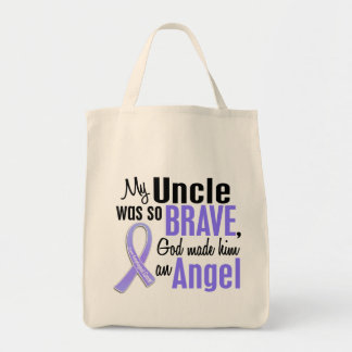 Angel 1 Uncle Esophageal Cancer Tote Bag