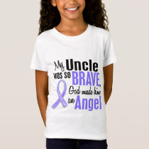 Angel 1 Uncle Stomach Cancer T-Shirt