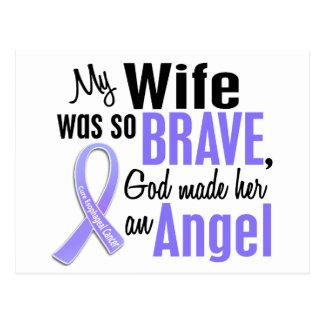 Angel 1 Wife Esophageal Cancer Postcard