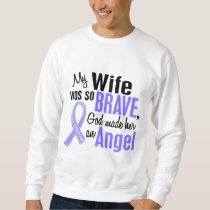 Angel 1 Wife Esophageal Cancer Sweatshirt