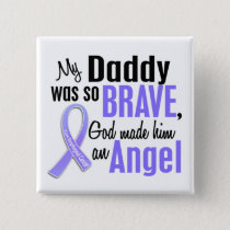 Angel 1Daddy Esophageal Cancer Pinback Button