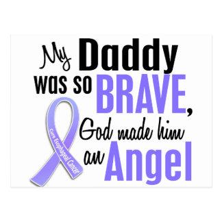 Angel 1Daddy Esophageal Cancer Postcard