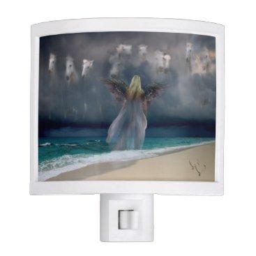 Beach Themed Angel #246 night light