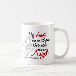 Angel 2 Aunt Lung Cancer Mugs