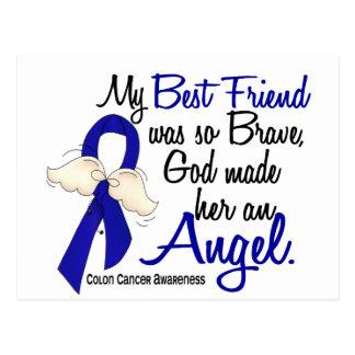 Angel 2 Best Friend Colon Cancer Postcard